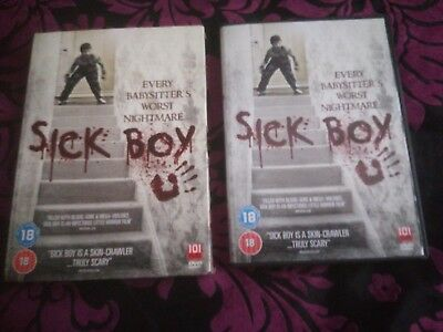 Sick Boy (DVD, 2013) Region 2 Horror Film, With slip cover