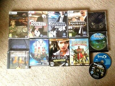 mixed lot 12no PC  games...used