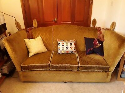 KNOLE SOFA fully upholstered 1950's vintage