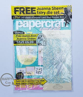 Papercraft Essentials Magazine  Issue 155 with Free Fairy Die Set & Mirror Card