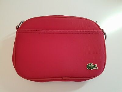 Eur Rouge Lacoste X 28 Sac 14 Toile Cm Bandouliere 15 wwr8fW1qF