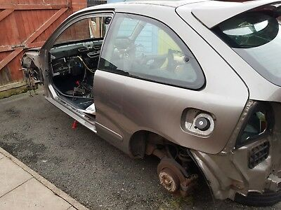 2004 Mg Zr 3 Door Vvc Bare Shell Not Rolling Non-Sunroof