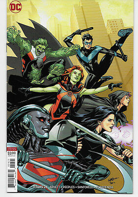 Titans 24 Rebirth Cover Variant The New Team