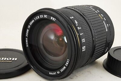 Very Good Sigma EX 18-50mm f/2.8 DC Lens For Canon 1426