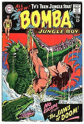Bomba The Jungle Boy #1, Fine - Very Fine Condition'