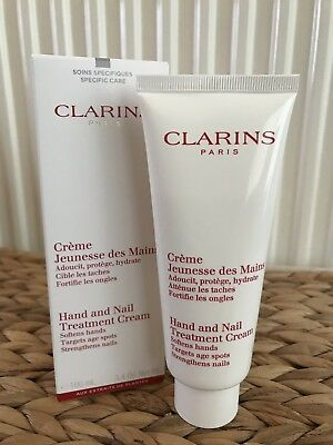 Clarins hand and nail treatment cream 100ml, Boxed And Brand New.