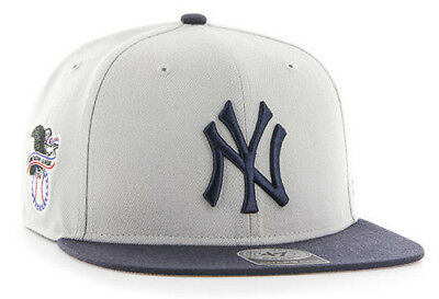 df1c44938a2c35 NEW YORK YANKEES Mlb Sure Shot Flat Bill 2-Tone Snapback Cap Hat Nwt ...