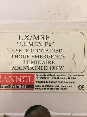 Channel LX/M3F 3 Hour Emergency Luminaire.