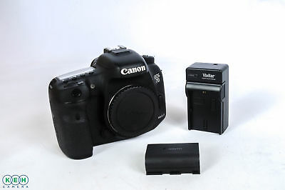 Canon EOS 7D Mark II (G) Digital SLR Camera {20 M/P} Shutter Actuations: 16,400