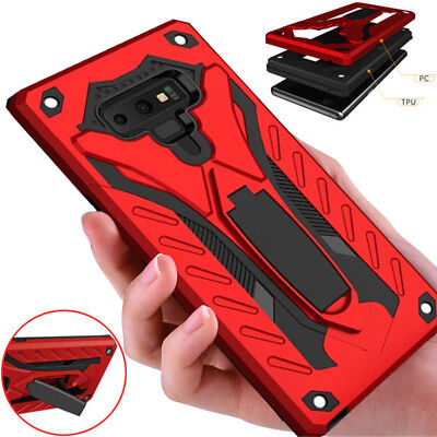 For Samsung Galaxy A9 J8 2018 Case Shockproof Heavy Duty Armor Tough Cover Stand