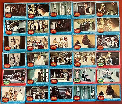 1977 Star Wars Cards: Lot of 66 - 20th Century Fox
