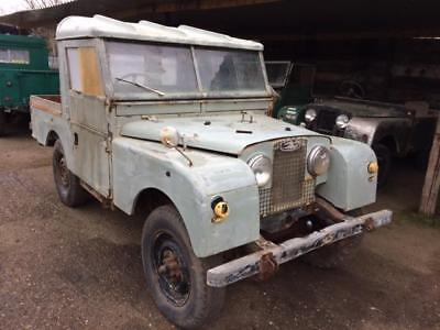 Land Rover Series 1 86 inch Tray Back