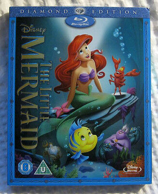 Disney The Little Mermaid Blu-ray disc - NEW SEALED – Diamond Edition
