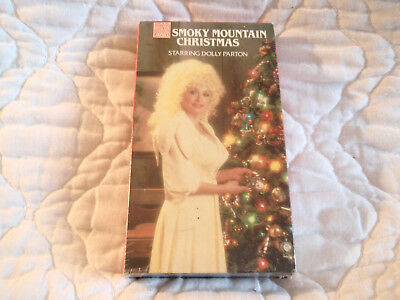 A Smoky Mountain Christmas Vhs New Dolly Parton 6 Songs Lee Majors John Ritter