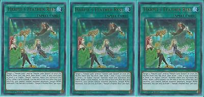 LED4-EN004 HARPIE'S FEATHER REST – Ultra Rare - 3X 1st Edition, GET YOURS 1ST!