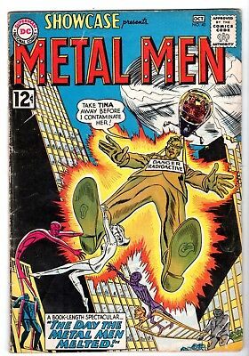 Showcase #40 featuring The 4th Appearance of The Metal Men, VG - Fine Condition