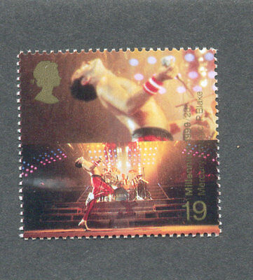 Freddie Mercury-Queen-Singer-Music Great Britain single value 1999
