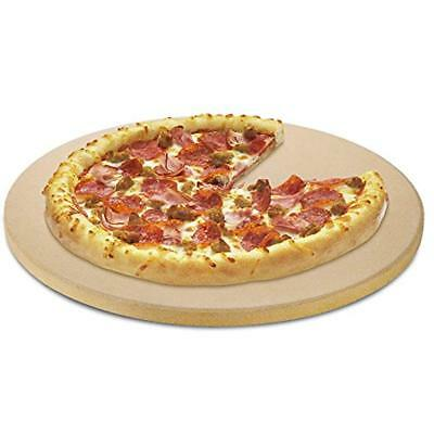 Unicook Pizza Grilling Stones Heavy Duty Ceramic Stone, 15 Inch Round Baking For