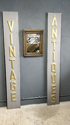 Antique Distressed Foxed Mirror