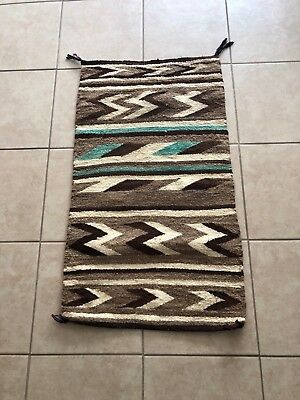 Antique Native American Navajo Tribal Rug