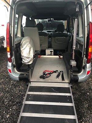 Renault Kangoo 2007 A/C Diesel Wheelchair Access Brook Miller low mile rear ramp
