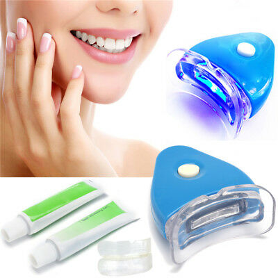 1XDental Oral Hygiene Care teeth white LED Light Whitening Gel Toothpaste set