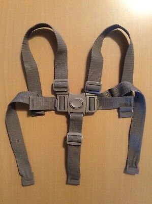 Graco High Chair 5 Point Harness Straps Replacement Part Set Brown