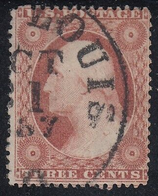 TDStamps: US Stamps Scott#25 3c Washington Used CV$175.00