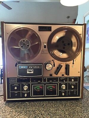 Vintage AKAI GX -225D Reel to Reel Tested and Working