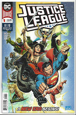 Justice League #1 (2018) ~ Nm/mint 9.8 : Send This Book To Cgc!