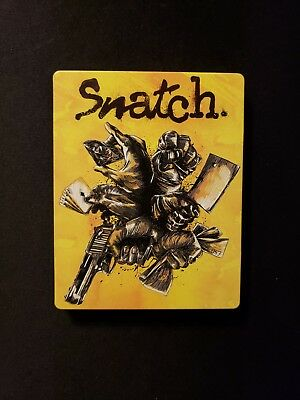 Snatch Blu Ray Steel Book, L19 C2.