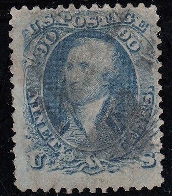 TDStamps: US Stamps Scott#72 90c Washington Used CV$675.00