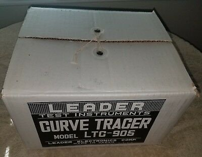 New in the Box Leader LTC-905 Curve Tracer Test Instrument