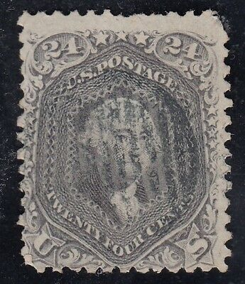 TDStamps: US Stamps Scott#78 24c Washington Used CV$400.00