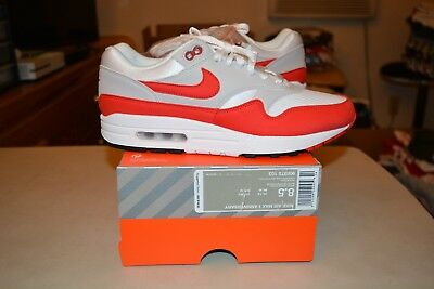 buy cheap e4ef9 ceed3 DS NIKE AIR Max 1 Anniversary OG University Red Restock 2017/2018 Size 8.5