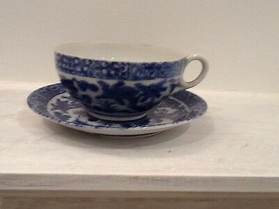 6 Vintage Chinese Cup And Saucers