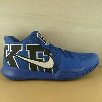 06bd7d1c549 Nike Kyrie 3 Duke Brotherhood Duke Blue Devils Blue Black 922027-001 Size 16