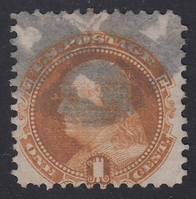 TDStamps: US Stamps Scott#112 1c Pictorial Used CV$160.00