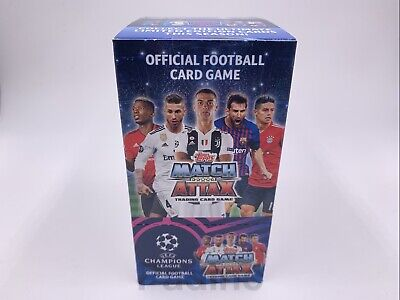 UEFA Champions League Match Attax 18/19 Trading Cards 10, 20, 30 Packs Full Box