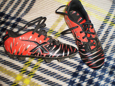 1cfbf0f6ee55 Youth X Blade Soccer Cleats Shoes - Size 1 - Black/Silver/Red