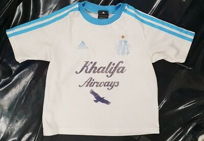 Maillot jersey maglia camiseta shirt france marseille om 6 ans 2002 2003  enfant 5a13706a7b5a