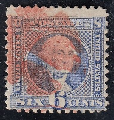 TDStamps: US Stamps Scott#115 6c Pictorial Used CV$225.00