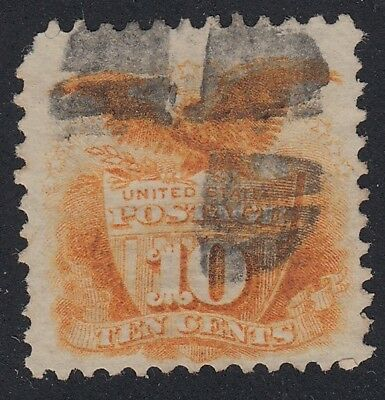 TDStamps: US Stamps Scott#116 10c Pictorial Used CV$140.00