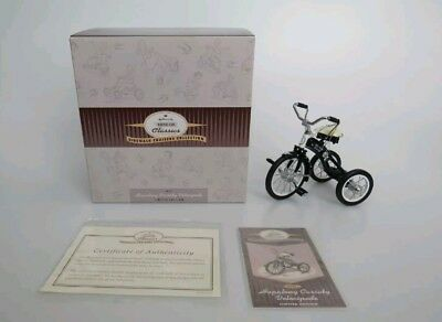 Hallmark Kiddie Car Classics 1951 HOPALONG CASSIDY VELOCIPEDE Ltd Edition MINT