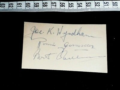 JACK PAYNE BAND autograph Autogramm AK JAZZ BRITISH DANCE BBC IRVING BERLIN HALL
