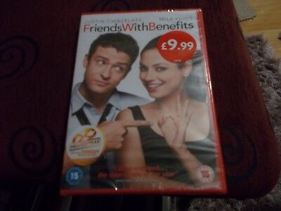 Friends With Benefits DVD (2012) Justin Timberlake  NEW & SEALED