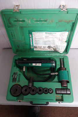 "Greenlee 7306SB Slugbuster Knock Out Punch Set Knockout 1/2-2"" Conduit #6379B"