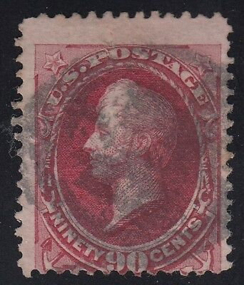 TDStamps: US Stamps Scott#155 90c Perry Used CV$350.00