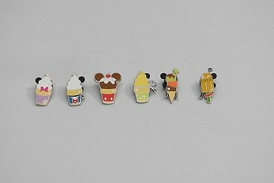 Disney Pin Ice Cream Lot Complete Set Of 6 2018 DLR Hidden Mickey