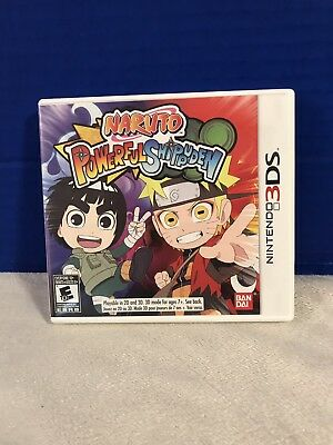 Nintendo 3DS Naruto Powerful Shippuden With Case Manual